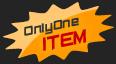 onlyone item